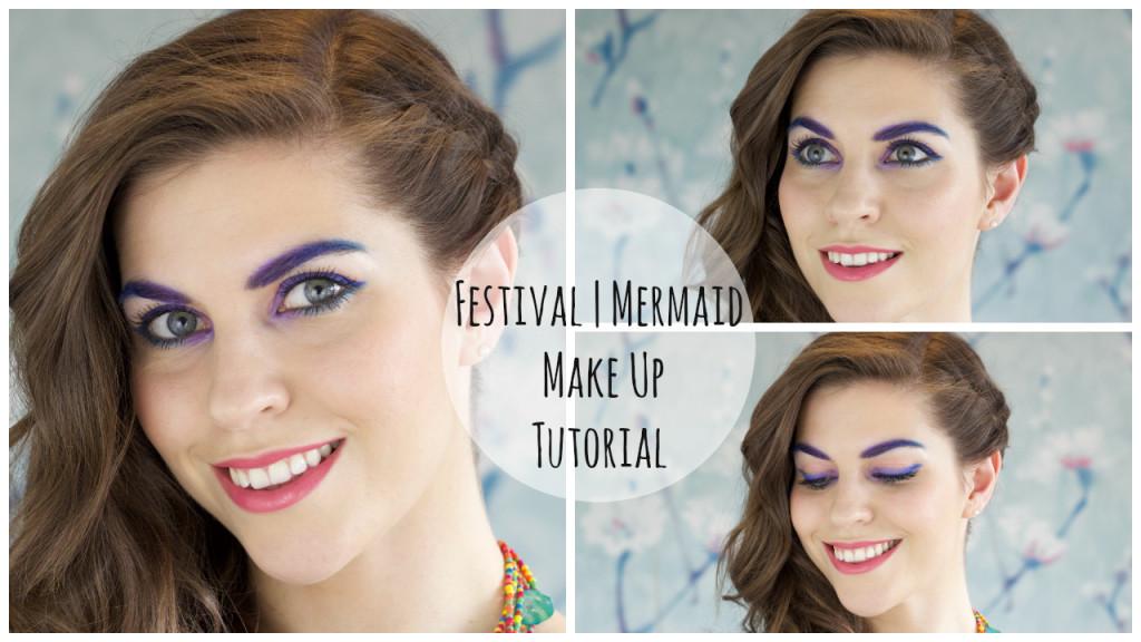 Festival Mermaid Make up tutorial