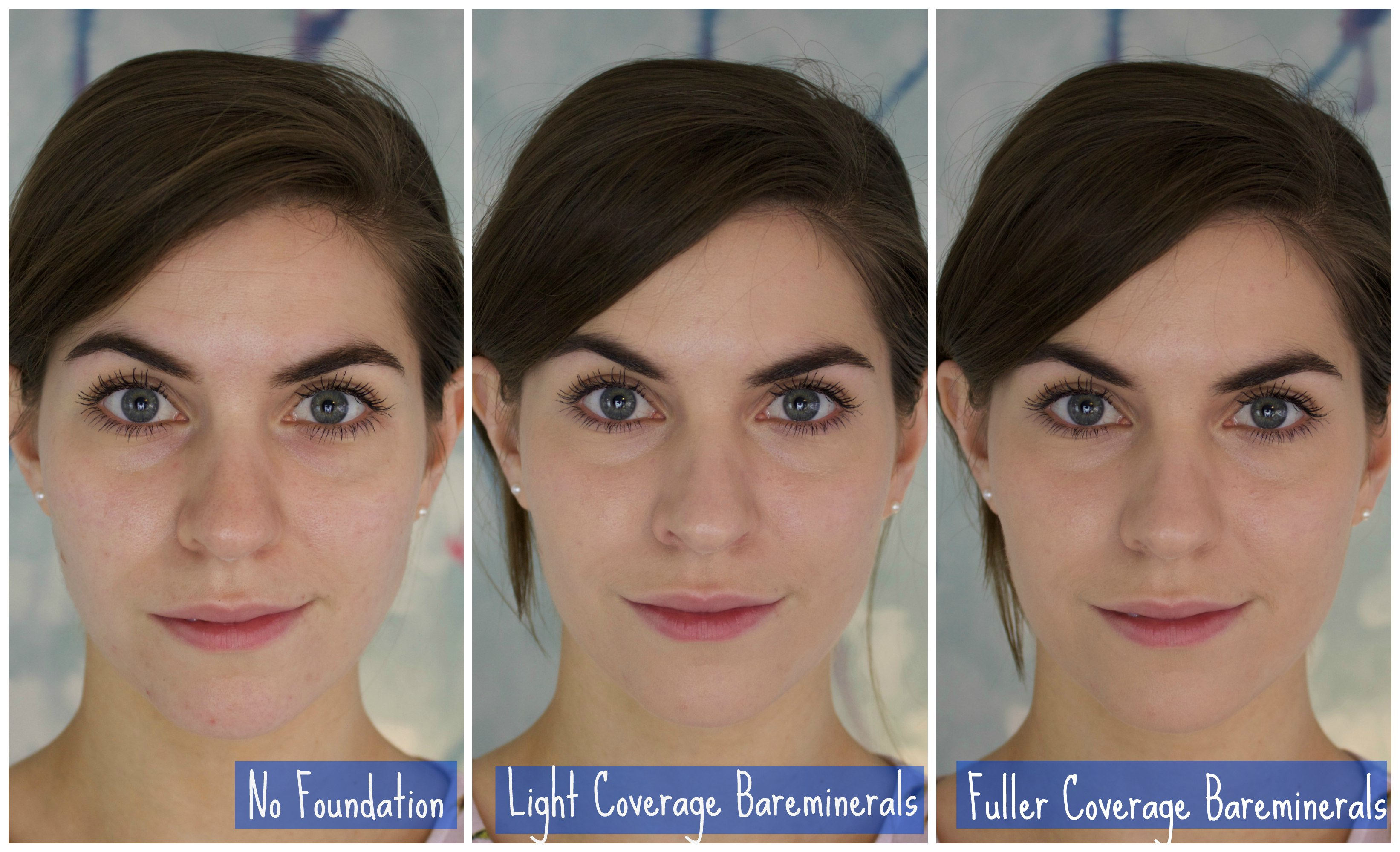 bareminerals original foundation before and after. foundation menu bareminerals original spf15. one of the best things about this product is how little you need. in light coverage photo i used a tiny before and after