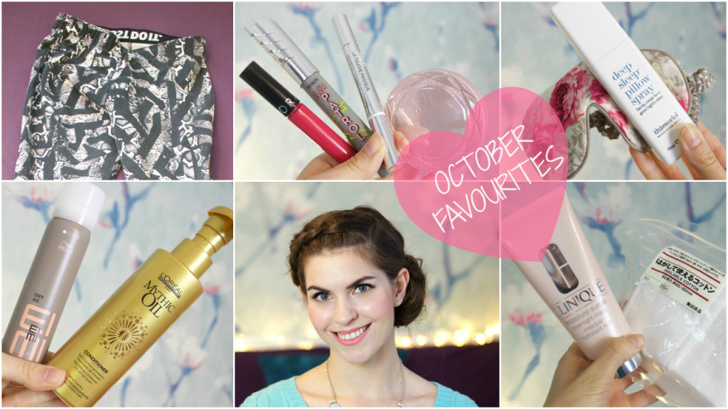 Watch my latest favourites video for October featuring my favourite skincare, make up, wellbeing and dance products.